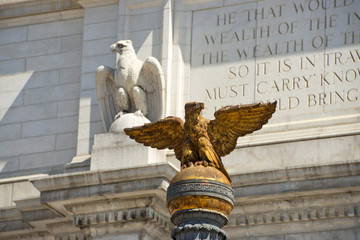 Washington union station eagles