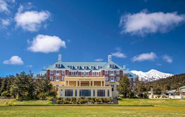 Chateau Tongariro im Tongariro Nationalpark