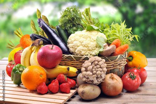 Poster Keuken 野菜とフルーツ