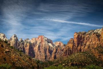 Canyon Rock at Zion National Park
