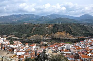 Paisaje de Sierra Madrona, Fuencaliente, Ciudad Real