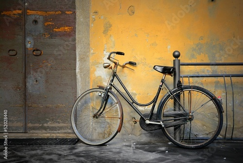 Aluminium Fiets Italian old-style bicycle