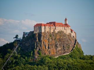 View to a castle, Austria