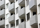 Building balconies in repetition poster