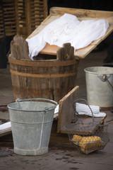Washerwoman's instruments