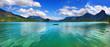 mountain Alpen lake, st.Wolfgang, Austria