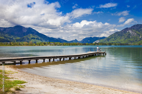 lakes of Austria. st Wolfgang