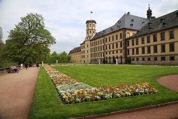 Fulda Schlossgarten mit klassischem Garten