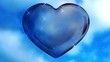 Blue Love Heart