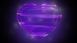 Purple Love Heart