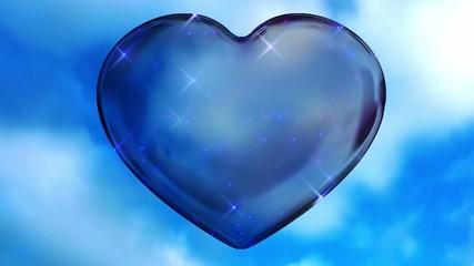 Blue Love Heart