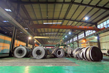 Hot rolled strip steel