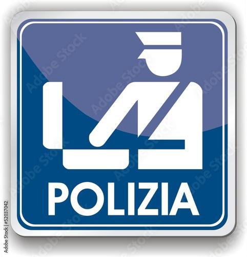 panneau polizia