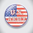U.S. Army - vector Pin / Button Badge