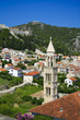 Beautiful view of Hvar town on Hvar island, Croatia