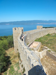 Castle Samoil And Lake Ohrid, Republic Of Macedonia