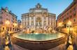 Leinwandbild Motiv Fontaine de Trevi, Rome, Italie