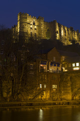 Durham Cathedral night