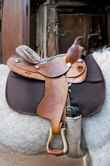 saddle riding