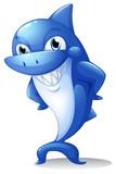 A big blue shark