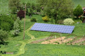 solaranlage am südhang