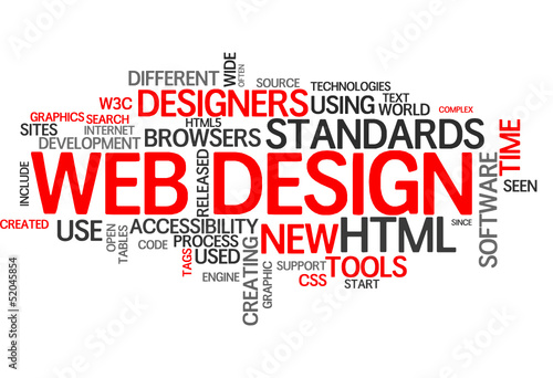 Web Design (tag cloud)