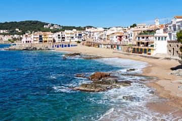 The village of Calella de Palafrugell (Costa Brava, Catalonia, S