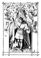 Medieval Minnesanger - Menestrel/Troubadour