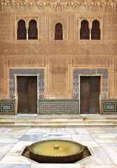 Alhambra de Granada. Comares courtyard