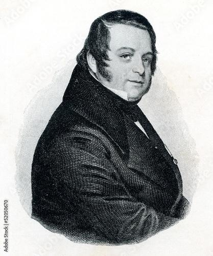 German composer Heinrich August Marschner