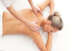 Young attractive woman on a spa massage procedure