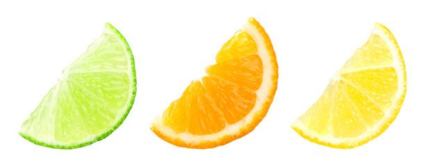 Slices of citrus