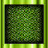 Abstract background metallic green with crystalline pattern