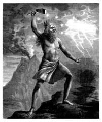 Germanic/Nordic God : mighty Thor