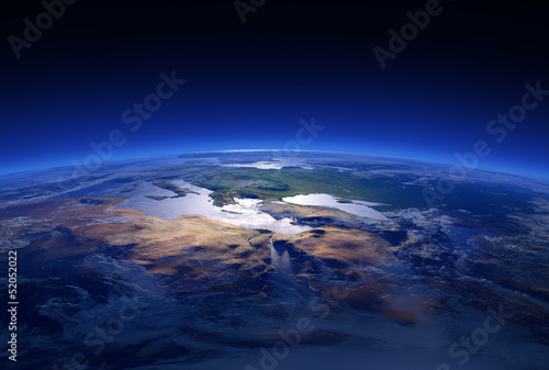 Earth Close-up 3d Series: Mediterranean Countries