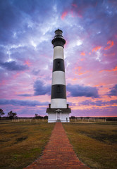 Bodie Island Lighthouse Cape Hatteras Outer Banks NC