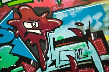 graffiti en colère