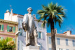 Statue Lord Brougham in Cannes, France