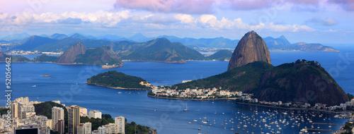 Panoramic view of Rio De Janeiro landscape