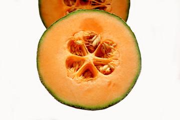 Cut in Half Melon
