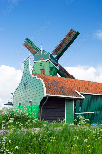 Windmill at Dutch Zaanse Schans