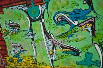 graffiti letres BIS