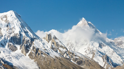 Mount Masherbrum, Karakorum Mountains, Pakistan