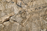 Old Newspaper Background