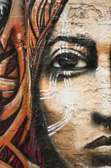 graffiti visage