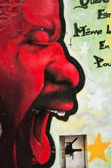 graffiti colère