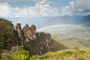 The Three Sisters, Blue Mountains National Park, NSW, Australia