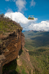 Skyway in Blue Mountains, Sydney, NSW, Australia