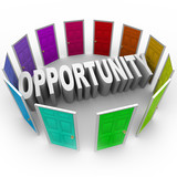 Opportunity Word Doors Open to Big Chance for New Future