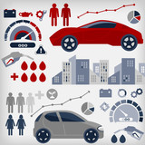 Infographic Elements/cars